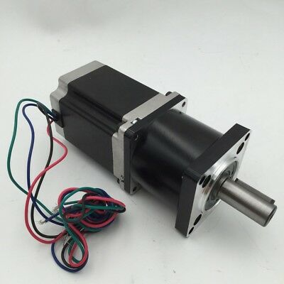 Nema23 3Nm Stepper Motor L112mm with Planetary Gearhead 5:1 10:1 20:1 30:1 50:1