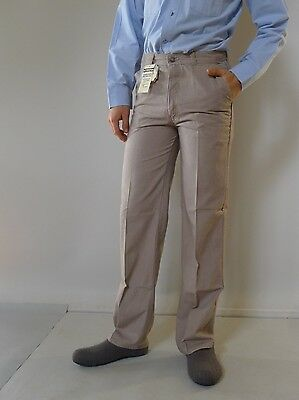 Vintage retro true 80s 4 S unused Levi's mens high waisted pants light brown
