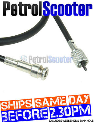 Speedo Cable Chinese Scooter 50cc 49cc Odometer Push In   Screw End Square Drive