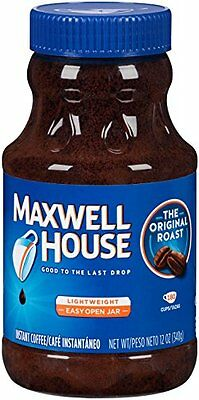 Maxwell House Instant Coffee 12oz Jars Pack of 12