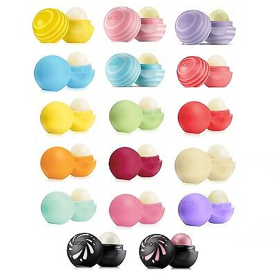 Eos Lip Balm Smooth Sphere and Sticks all 17 Flavours - Choose Your Own Flavours