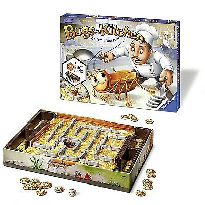 Ravensburger Bugs in the Kitchen Board Game - 22261 NEW