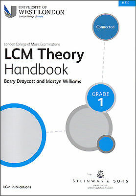 LCM / TVU London College Of Music Grade 1 Theory Handbook Music Book LL130 New