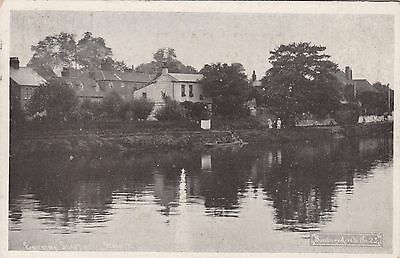 Evening Shadows, Staines, Middlesex, old postcard, posted 1907