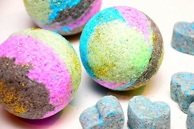 Bath Bomb - Galaxy (your choice of fragrance) LARGE 160g