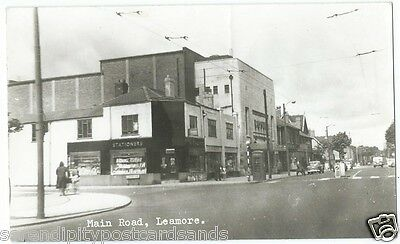 Leamore Walsall Main Road Shops Co-Op Vintage Cars RP by A W Bourne Unused