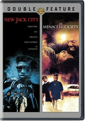 New Jack City/Menace Ii Society [New DVD] 2 Pack