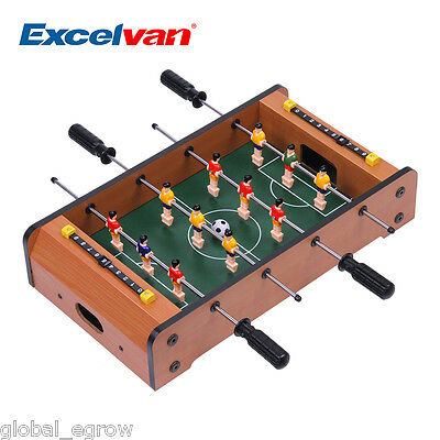 "Mini Table Top Foosball Desktop 17"" Inch Home Office Soccer Game Table Kids Toy"