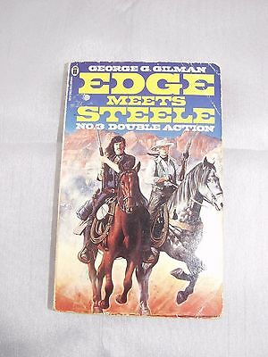 George G.Gilman (Edge meets Steele) *1st Edition* Double Action No3  £6000! RARE