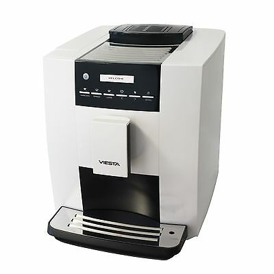 Viesta CB300S Fully automatic coffee machine - Powerfull with 1400 Watt - White