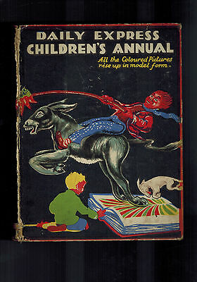 DAILY EXPRESS CHILDRENS ANNUAL No. 2 1930s Rupert Bear