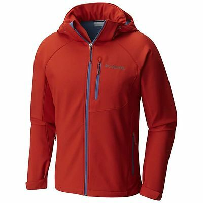 Veste Columbia Cascade Ridge Ii Softshell (rust Red)