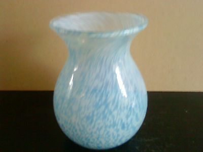 "Dartington Studio ""Alchemy"" glass vase made at the Barbican Plymouth"