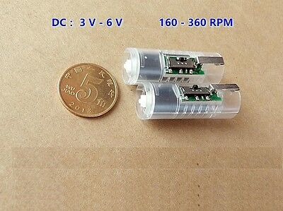 1PCS DC 3V-6V Mini 10MM Planetary Gear Reducer Motor Coreless Motor For Robot K