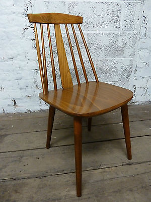 Midcentury Danish Stick Back Dining Chair (20C133)