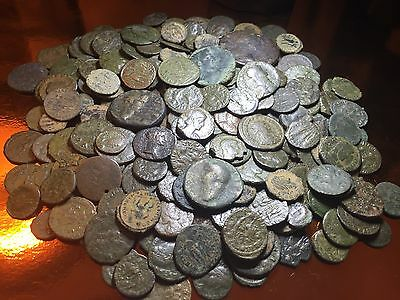 Lot Of 5 X Ancient Roman Coins. Quality Authentic Artefacts. Limited Low Cost.