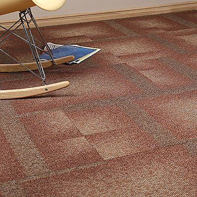 16x Tessera Carpet Tiles Commercial Heavy Use Flooring Red Hot 4m2