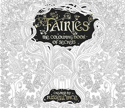 Fairies: The Colouring Book of Secrets