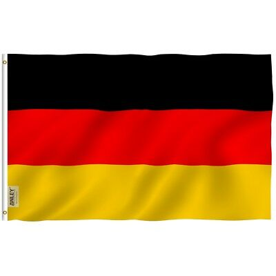 Anley Fly Breeze 3x5 Foot Germany Flag German Flags Polyester Double Stitched