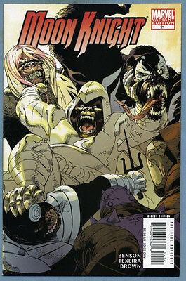 Moon Knight #21 2008 Incentive Marvel Apes Variant