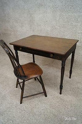 Antique Sheraton Farm House table / desk console