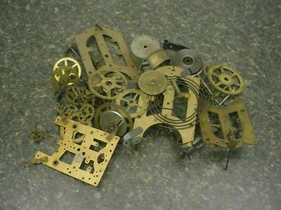 3.3 lbs Seth Thomas Gilbert Clock maker Main Timing Gears Brass Steam Punk D062