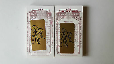 Wills WAR INCIDENTS - MINT SEALED - Set 50 Cards COLLECTORS SOCIETY REPRINT