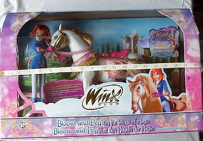 Winx Club  Bloom And Peg On The Wings Of Magic