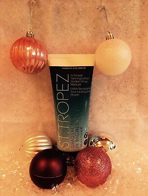 St Tropez Gradual Tan In Shower Tanning Lotion- Golden Glow Medium 200Ml- New
