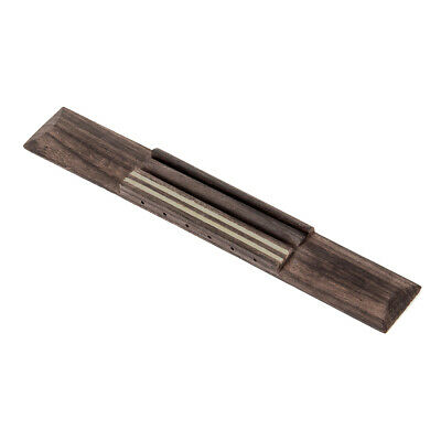 Slotted 6 String Guitar Bridge for Classical Acoustic Guitar Parts