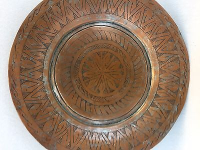 18/19 th Century Persain Copper Charger