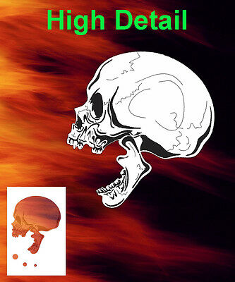 Skull 26 Airbrush Stencil Spray Vision Template air brush