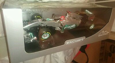 M Schumacher mercedes amg 2011 showcar f1 limited edition car 1/18