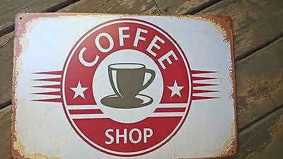 Vintage Style coffee tin sign
