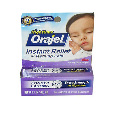 Orajel Nighttime Instant Relief For Teething Pain 0.18 Oz  -Exp 11/17