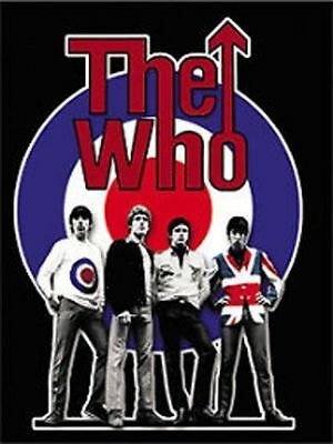 THE WHO -PETE TOWNSHEND -ROGER DALTREY HANGING 3'x4' FLAG
