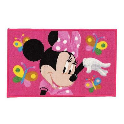 Tappeto camerette Minnie Butterfly Disney 100x170 cm P783