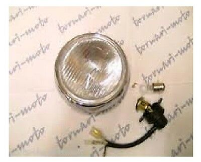 HONDA C50 C70 C90 ZZ 6 VOLT ROUND HEADLIGHT HEADLAMP 6V head light lamp