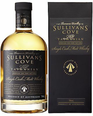 Sullivans Cove Matured in American Oak Cask Single Malt Whisky