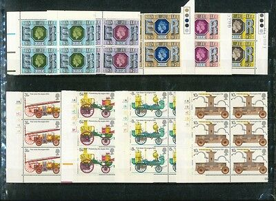 Great Britain Lot of 95 MNH Stamps Scott 444-445, 705-727, 810-814,1054a & 1056a