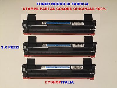 3 x TONER CARTUCCE TN1050 PER BROTHER DCP1510 DCP1512 DCP1610W DCP1612 HL1112