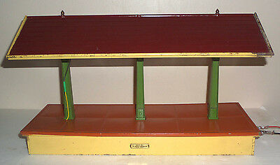Lionel 155 Standard Gauge Illuminated Freight Station Shed Platform Early Colors