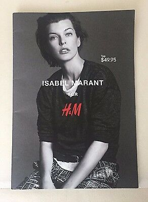 Isabel Marant For H&m Catalogue/catalog/book/collection