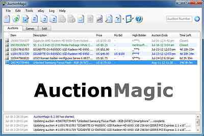 AuctionMagic!   Most Powerful Sniping/Bidding Software on eBay - snipe bid tools