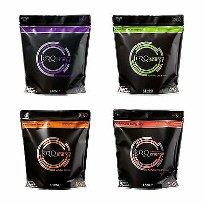 Torq Cycling / Fitness Natural High Carbohydrate Energy Drink - 1.5kg Pouch