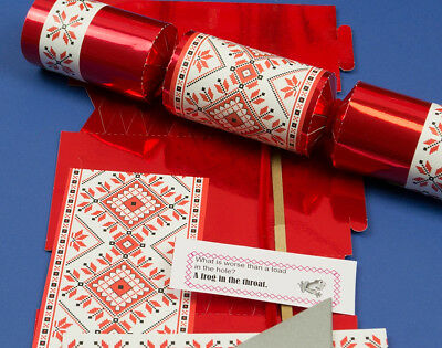Single Make Your Own Nordic Christmas Cracker Craft Kit