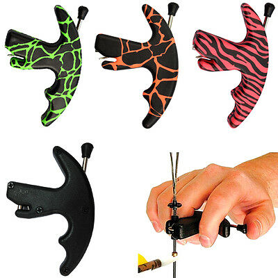 1X Archery Release Aid Thumb Style Trigger for Compound Recurve Bow Strings
