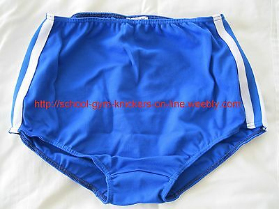 Ladies GYMPHLEX Royal Blue School Gym Shorts XXL UK size 16-20 BNIB