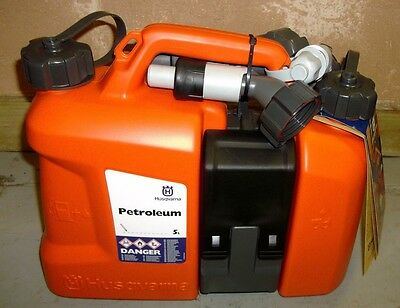 Husqvarna Combi Oil / Fuel Can Ideal For Chainsaw Users Tree Surgeons Arborists