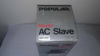 New Morris Popular Master AC Slave Studio Flash Bulbs 220V - 250V made in Japan